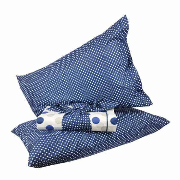 wholesale dealer 6cf26 e4a18 Parure copripiumino Pois – Blu – Negozi Idea Casa